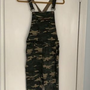 Other - Camo overalls